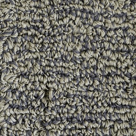 【写真】ラグ Fioriリネン・コットン10 長方形150×200cm グレー