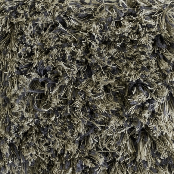 【写真】ラグ Fioriリネン・コットン40 長方形150×200cm グレー