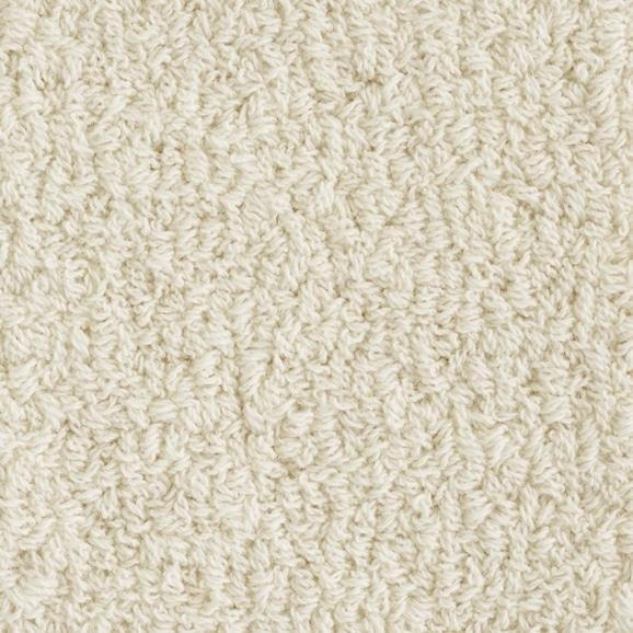 【写真】ラグ Fioriウールツイスト10 長方形150×200cm アイボリー