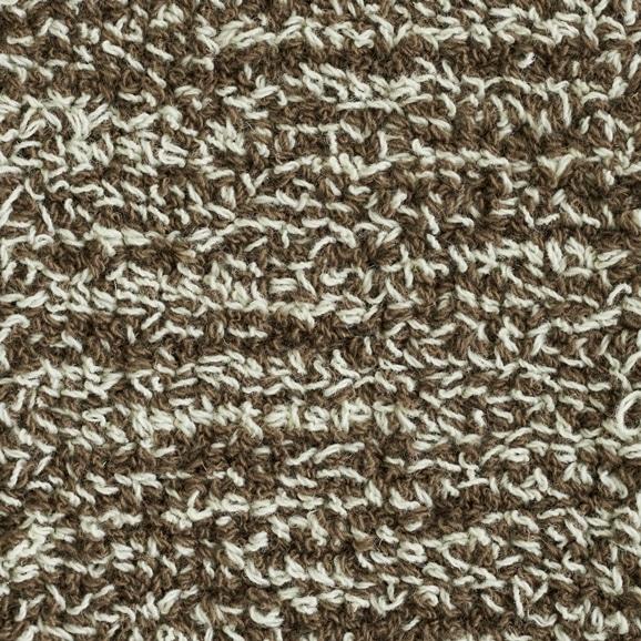 【写真】ラグ Fioriウールツイスト10 長方形150×200cm ブラウン