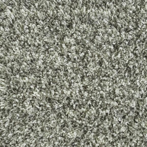 【写真】ラグ Fioriウールツイスト15 正方形200×200cm ライトグレー