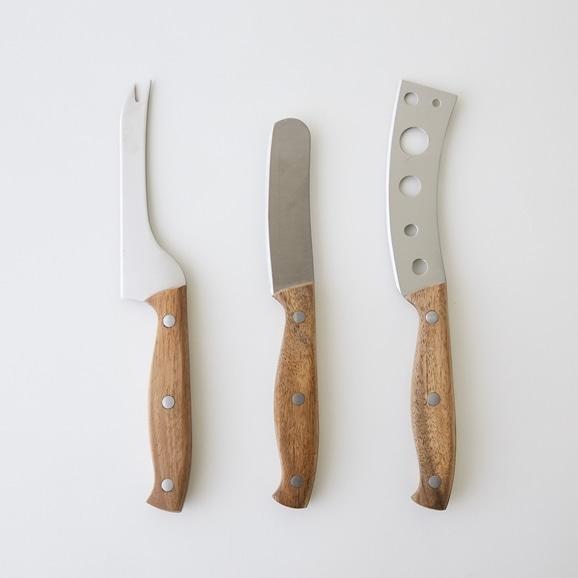 【写真】point virgule チーズナイフ 3本セット