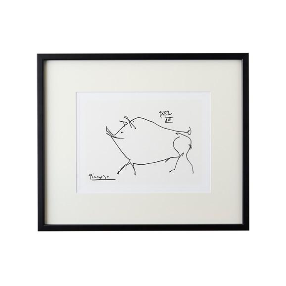 【写真】【定番品】パブロ・ピカソ 「Le petit cochon」BK