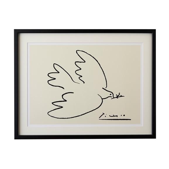 【写真】【定番品】パブロ・ピカソ 「Dove of Peace」BK