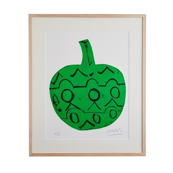 【写真】【一点物】松林誠「緑の果実」