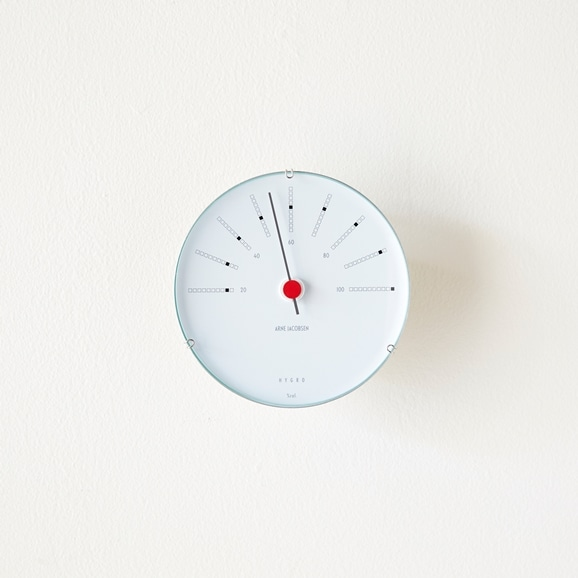【写真】Arne Jacobsen 湿度計 BANKERS