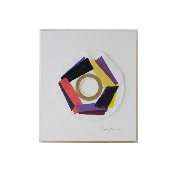 【写真】【一点物】望月佐知子「paper making art_work no.1」