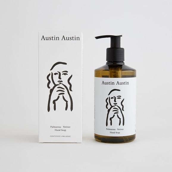 【写真】Austin Austin ハンドソープ palmarosa & vetiver