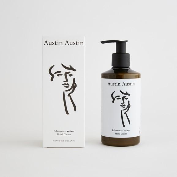 【写真】Austin Austin ハンドクリーム palmarosa & vetiver