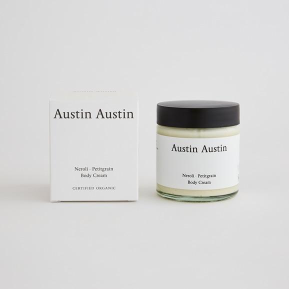 【写真】Austin Austin ボディクリーム neroli & petitgrain