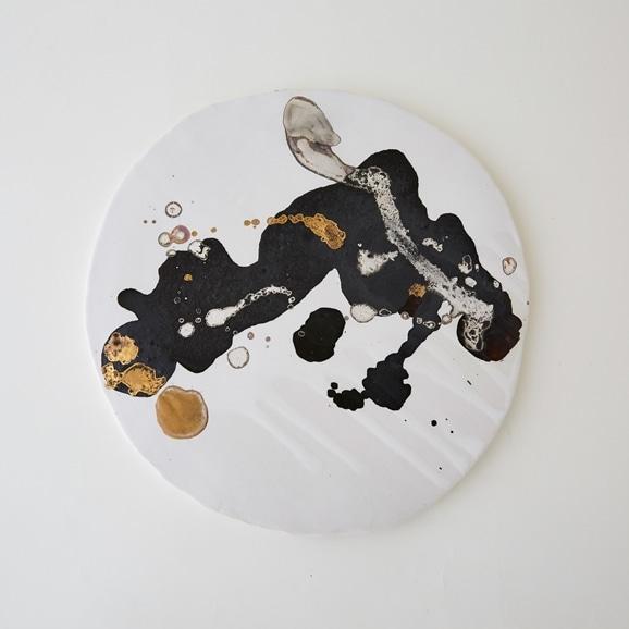 【写真】【一点物】安田奈緒子 板皿