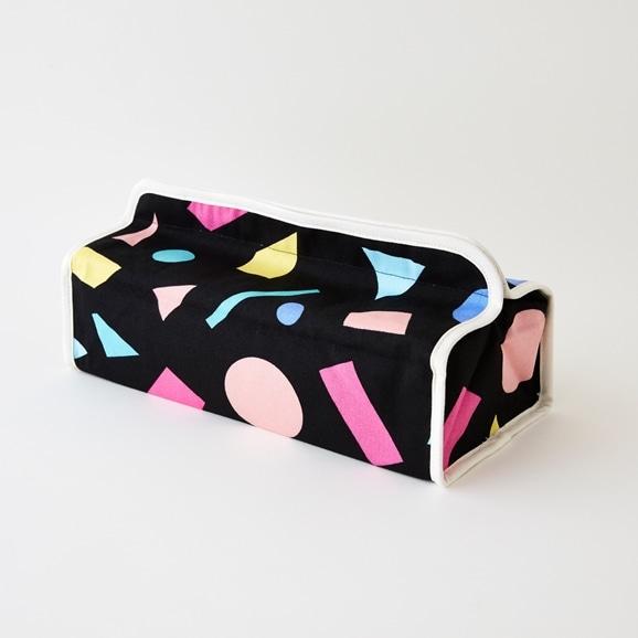 【写真】TissueBoxCover-VicoBlack/dieci+SD