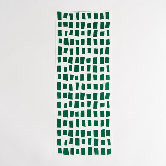 【写真】【IDEE TOKYO限定】柚木沙弥郎デザイン IDEE Daily Cloth キューブ  グリーン