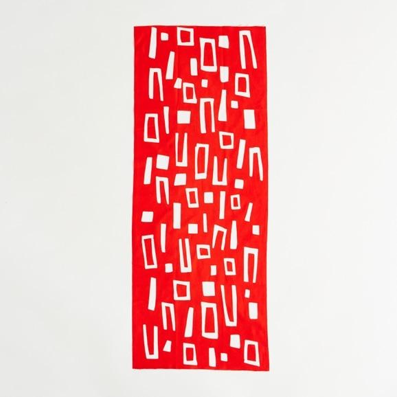 【写真】【IDEE TOKYO限定】柚木沙弥郎デザイン IDEE Daily Cloth ブロック オレンジ