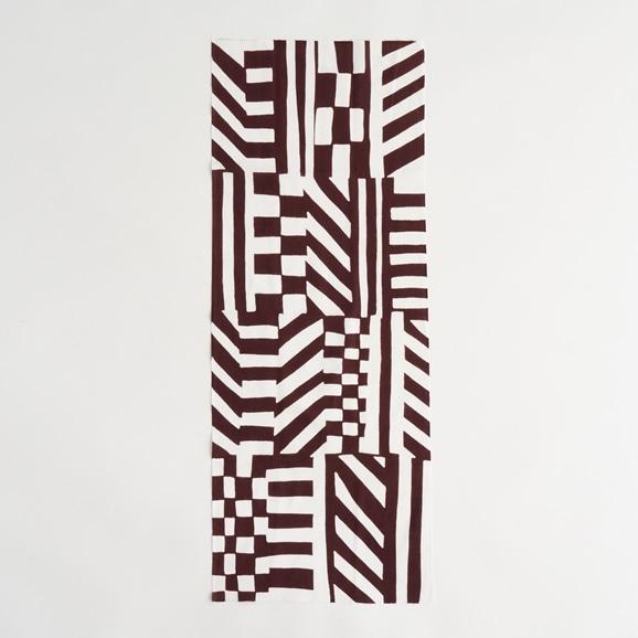 【写真】【IDEE TOKYO限定】柚木沙弥郎デザイン IDEE Daily Cloth シマウマ ブラウン