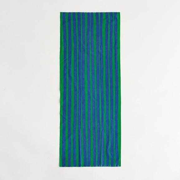 【写真】【IDEE TOKYO限定】柚木沙弥郎デザイン IDEE Daily Cloth ライン グリーン&ブルー