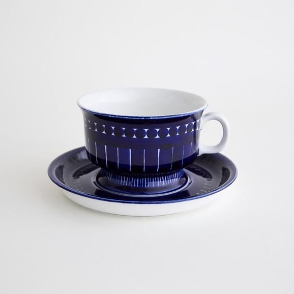 【写真】北欧ヴィンテージ食器 ARABIA VALENCIA TEA CUP & SAUCER