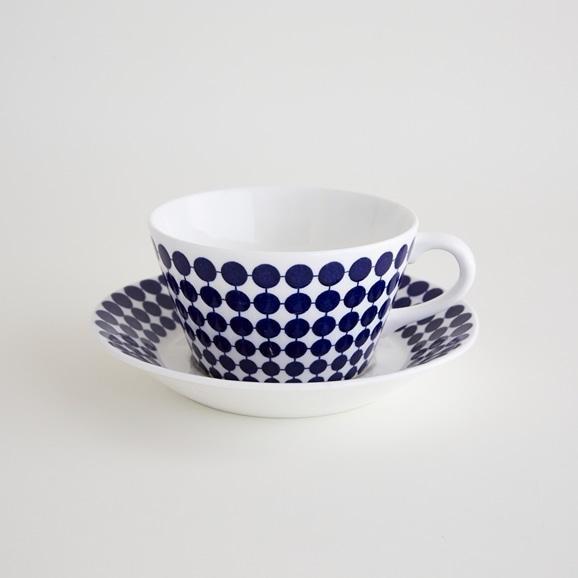 【写真】北欧ヴィンテージ食器 GUSTAVSBERG ADAM TEA CUP & SAUCER