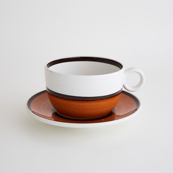 【写真】北欧ヴィンテージ食器 GUSTAVSBERG LINDBERG COFFEE CUP & SAUCER