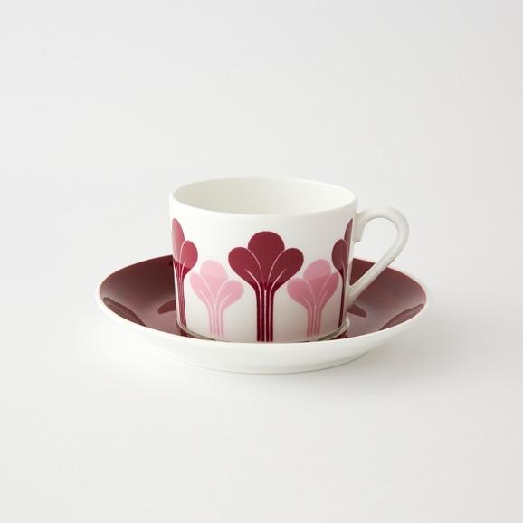 【写真】北欧ヴィンテージ食器 GUSTAVSBERG KROKUS COFFEE CUP & SAUCER