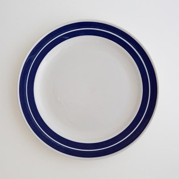 【写真】北欧ヴィンテージ食器 GUSTAVSBERG CORDON BLEU BAND BLUE PLATE L