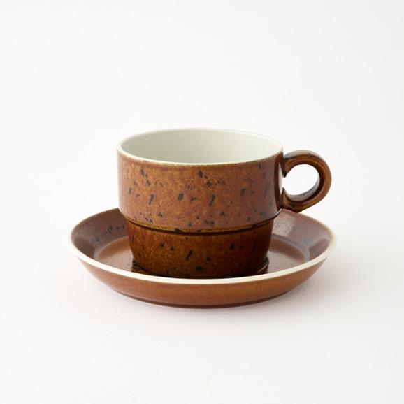 【写真】北欧ヴィンテージ食器 GUSTAVSBERG COQ TEA CUP & SAUCER