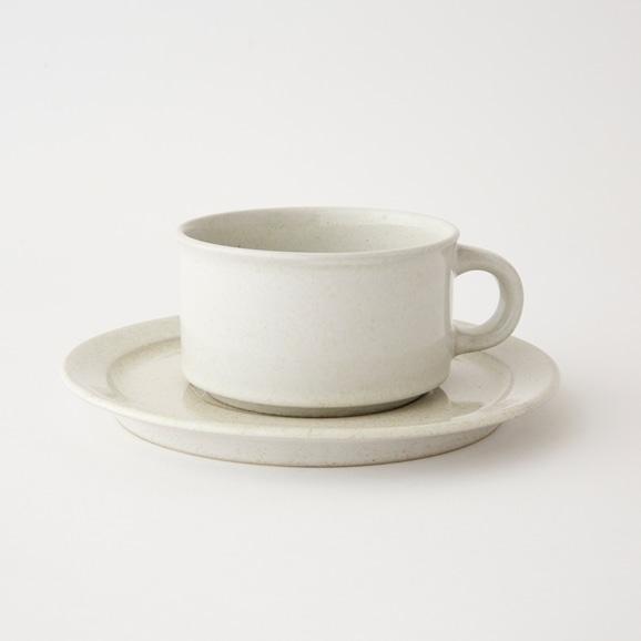【写真】北欧ヴィンテージ食器 Hoganas HARD TEA CUP & SAUCER