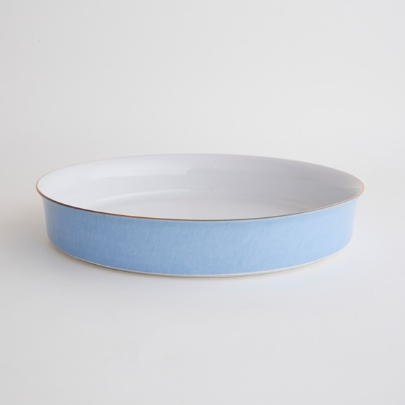 【写真】北欧ヴィンテージ食器 RORSTRAND PRIMEUR BLUE DISH L