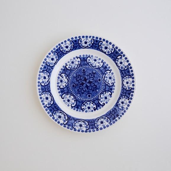 【写真】北欧ヴィンテージ食器 ARABIA ALI PLATE S