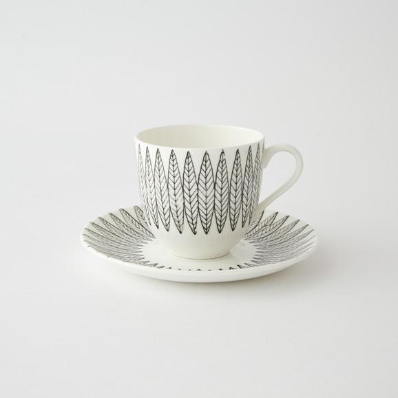 【写真】北欧ヴィンテージ食器 GUSTAVSBERG SALIX COFFEE CUP & SAUCER