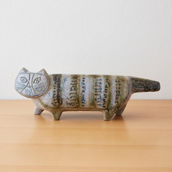 【写真】Vintage Lisa Larson Stora zoo Katt