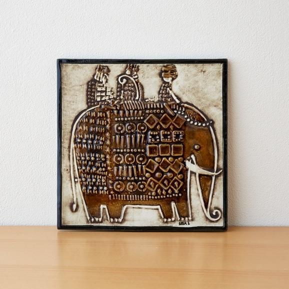 【写真】Vintage Lisa Larson Unik Elefant