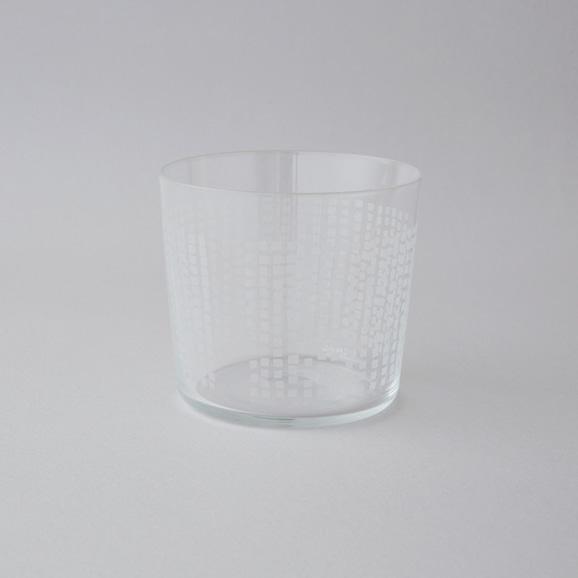 【写真】木村硝子 グラス パタンシリーズ カクカク 10oz