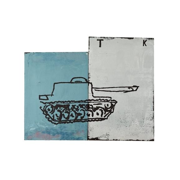 【写真】【一点物】舞木和哉 「戦車でやってくる」