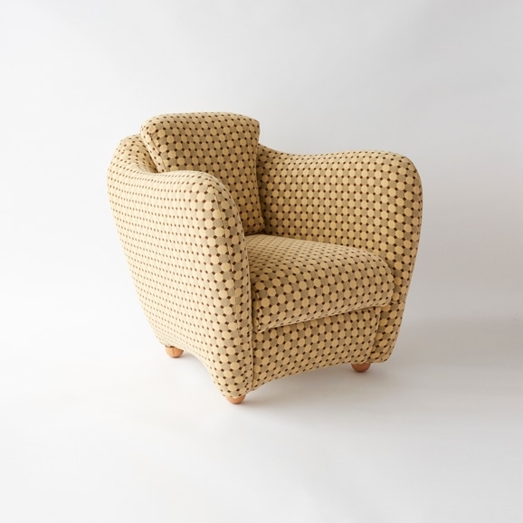 【写真】MINI MILLER ARM CHAIR × Svensson MIRA BERGE