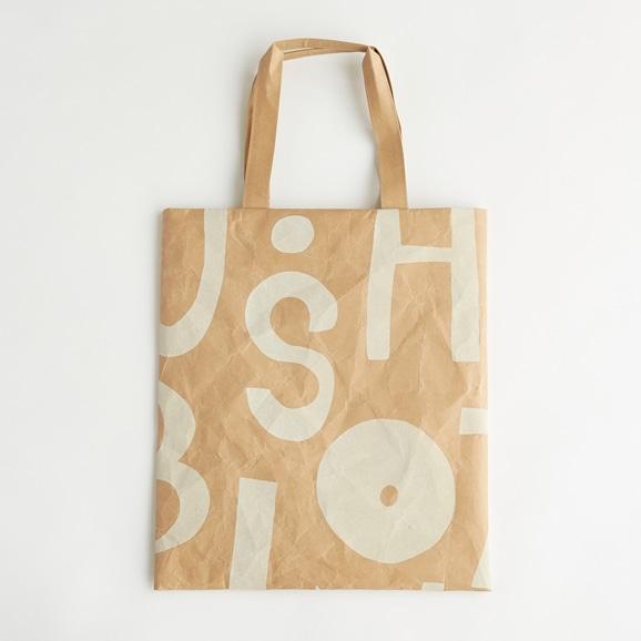 【写真】柚木沙弥郎デザイン SIWA FLATバッグ L アルファベット