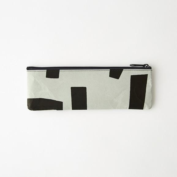 【写真】柚木沙弥郎デザイン  SIWA ペンケース M ブロック