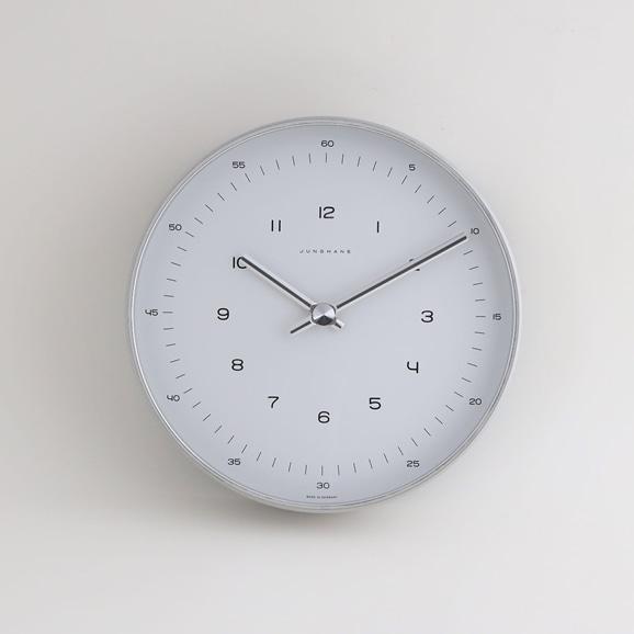 【写真】Max Bill by Junghaus Clock arabic φ220