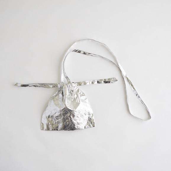 【写真】Drawstring Bag Strap メタルXS