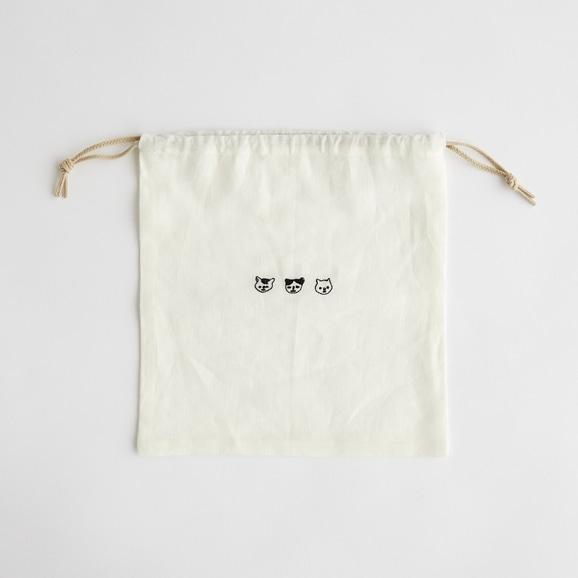 【写真】POOL Everyday 巾着 アイボリー
