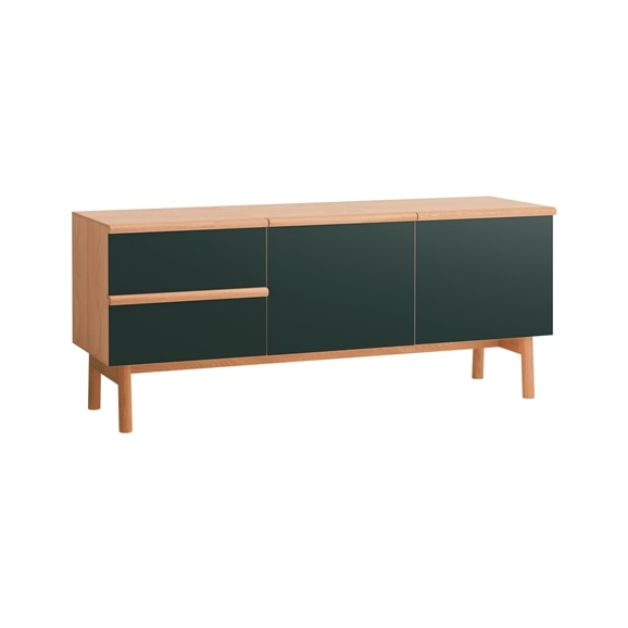 【写真】STILT SIDEBOARD L GREEN BLACK