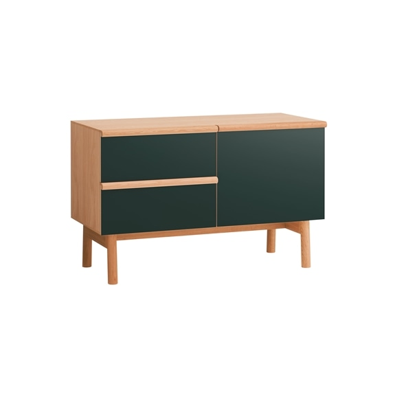【写真】STILT SIDEBOARD S GREEN BLACK
