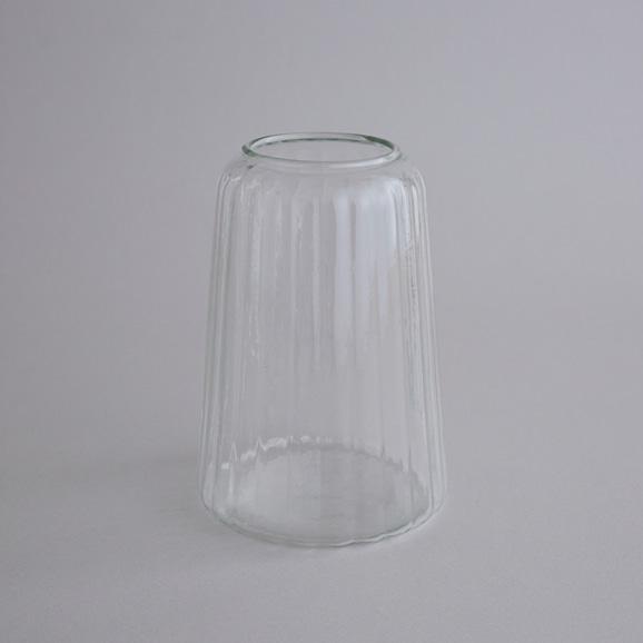 【写真】リユースガラス 花器 クーレライン カヌレット L