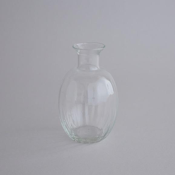 【写真】リユースガラス 花器 ワイズライン バルジ