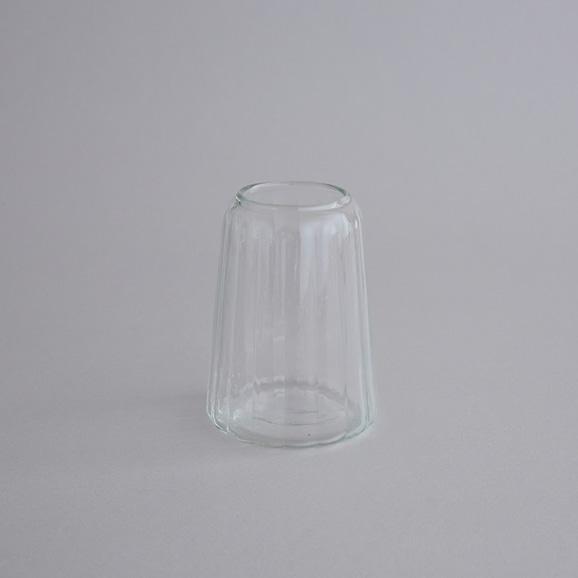 【写真】リユースガラス 花器 クーレライン カヌレット S