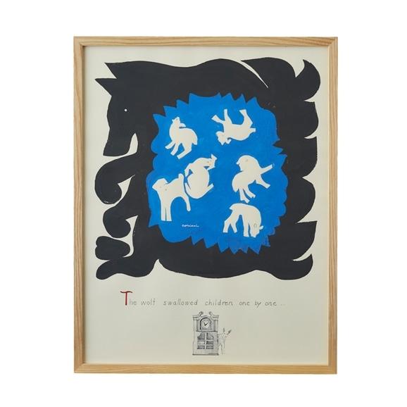 【写真】【一点物】coricci 「オオカミと七匹の仔ヤギ」