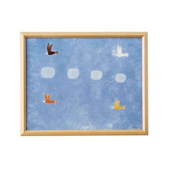 【写真】【一点物】秋山花 「THE BLUE AIR」