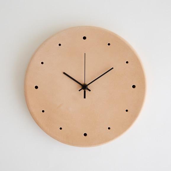 【写真】Hender Scheme clock ナチュラル