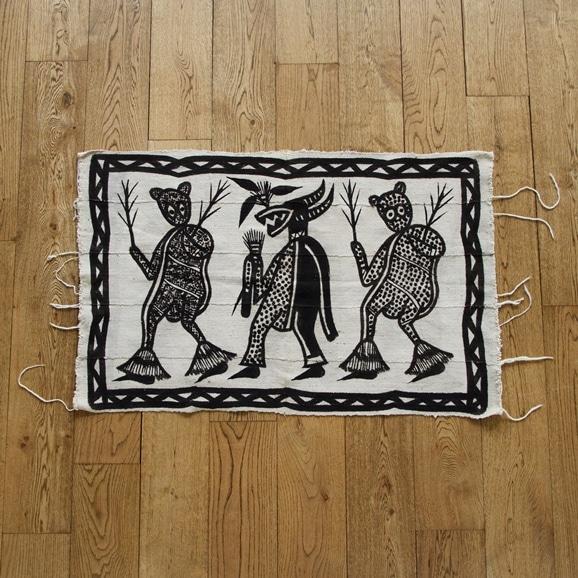【写真】【一点物】セヌフォ族 絵布