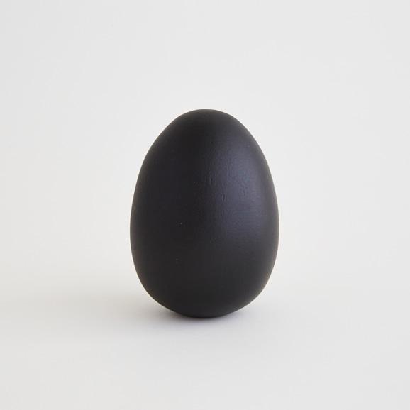 【写真】30★エッグオーナメント ブラック